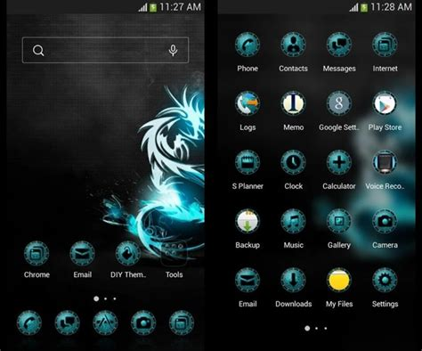 android theme 8 best android themes drippler apps news