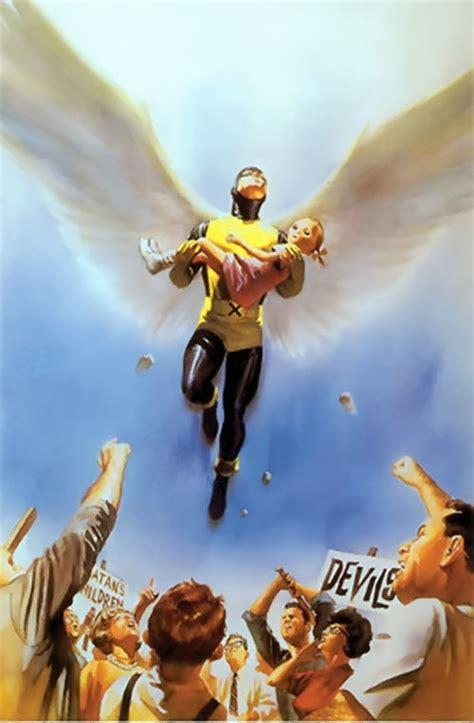 angel marvel comics  men early profile writeupsorg