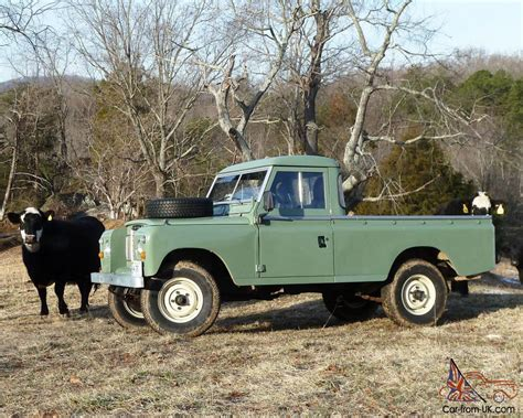 land rover pickup truck series 3 109 pick up truck ex mod