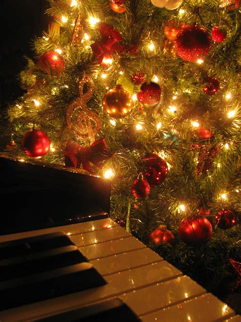 decoration de noel instruments de musique
