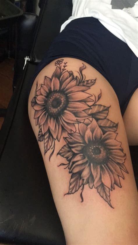 creation  sunflowers tatts tattoos sunflower