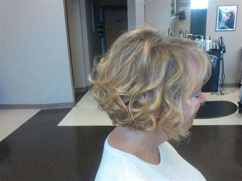 curled bob mother   bride short hair wedding style mindys hair work  ronis hair forum