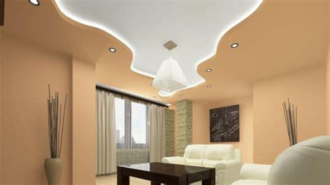 faux plafond moderne dans la chambre  coucher  le salon