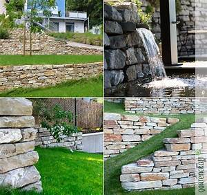 Natursteinmauern Im Garten : natursteinmauer die urspr nglichste art des mauerbaus gartencraft ~ Markanthonyermac.com Haus und Dekorationen