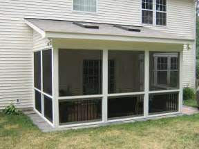 Slab Home Wilmington Deck Screen Porch Builder Hip Roof Porch Benefits