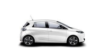Resultado de imagem para white Renault Zoe