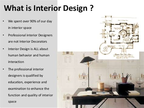 what is an interior designer introduction for interior design