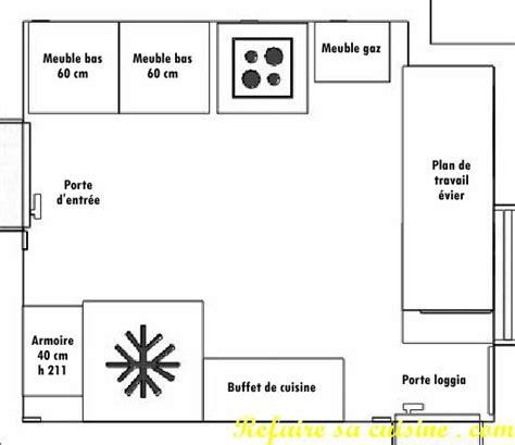 faire plan cuisine refaire sa cuisine projet avant travaux composition de