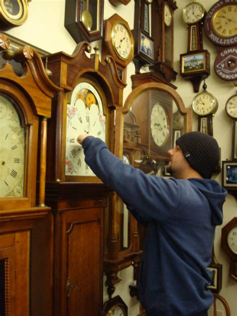 skips clock shop repair shop