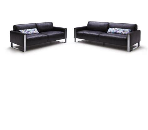Black Leather Sofa Set Price by Dreamfurniture Modern Black Leather Sofa Set