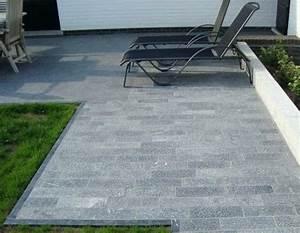 Nettoyer Dalle Terrasse : terrasse en pierre naturelle ~ Dallasstarsshop.com Idées de Décoration