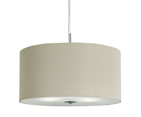 drum pleated large pendant 3 light with glass