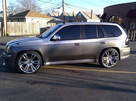 envoy denali silver rims crave  chrome