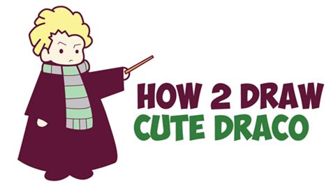 How To Draw Cute Ron Weasley From Harry Potter Chibi Kawaii Easy