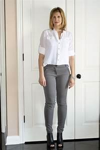 Grey Pants - Falling in Style