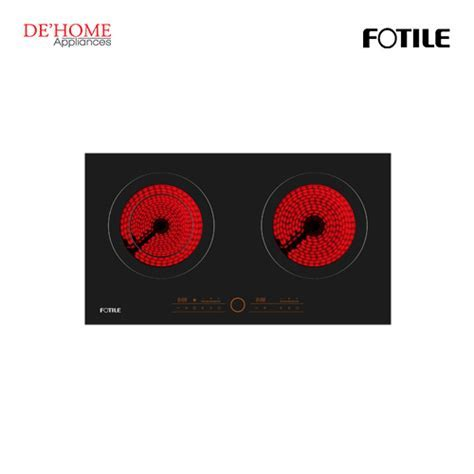 Fotile Built In 2 Burners Vitro Ceramic Electric Hob