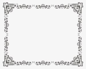 bingkai png keren bingkai sertifikat vektor transparent
