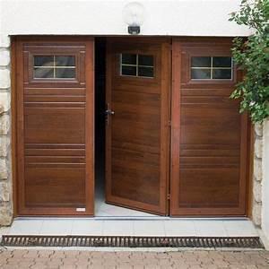 Porte De Garage 4 Vantaux : portes de garage battantes 2 3 ou 4 vantaux monsieur store ~ Dallasstarsshop.com Idées de Décoration