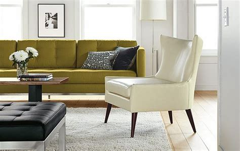 lola leather chair room by r b modern living room