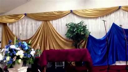 Church Wall Decoration Decor Draping Cloth Designs