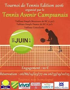 Tennis Avenir Campsanais Accueil Facebook