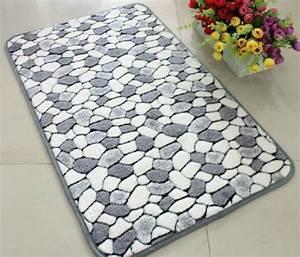 Grand Tapis Salle De Bain : les tapis de bain originaux sont ravissants ~ Mglfilm.com Idées de Décoration
