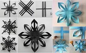 Flocon De Neige En Papier Facile Maternelle : origami de no l 6 id es avec des instructions de pliage ~ Melissatoandfro.com Idées de Décoration