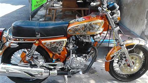 Honda Cb Mesin Tiger Modifikasi by Koleksi 58 Modifikasi Motor Honda Cb Mesin Tiger Terbaru