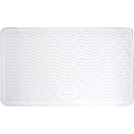 Rubbermaid Medium Rubber Bath Mat, White Walmart.com