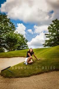 Golf Senior Portrait Ideas