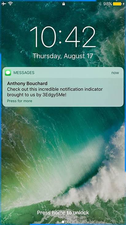 Iphone Notification Galaxy Aesthetic Text Message Wallpapers