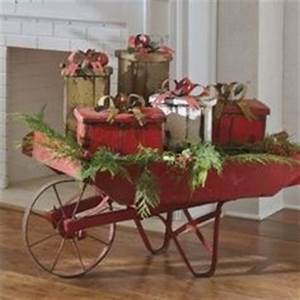 Wheelbarrow Decor on Pinterest