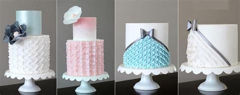 fabric effect wedding cakes cake geek magazine