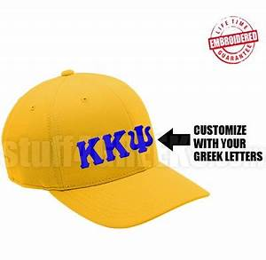 custom flexfit greek letter cap ab available for any With custom greek letter hats