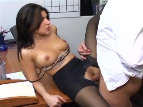 Office Sex With A Busty Secretary In Sexy Hosiery Free