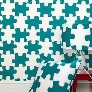 puzzle pieces wallpaper by paperboy wallpaper ...