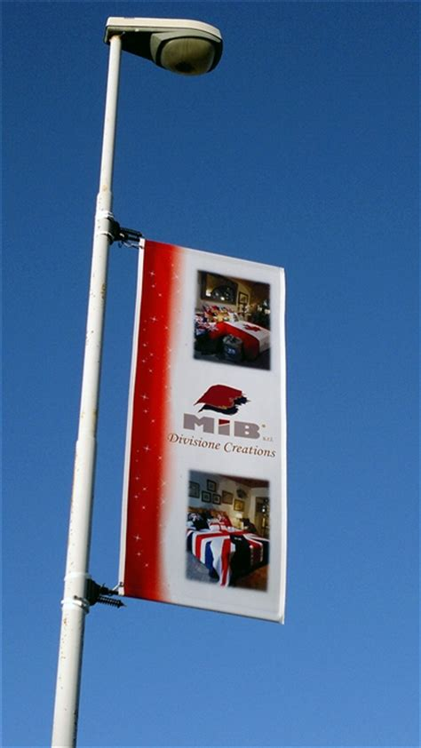 light pole banners 34 5 quot x 84 quot flex light pole banner