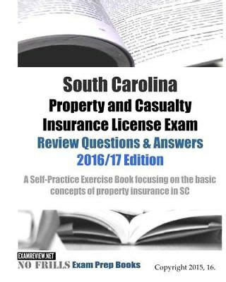 Kaplan also has separate study materials on offer in digital or physical format, such as a property and casualty license exam manual (lem) and. South Carolina Property and Casualty Insurance License Exam Test Questions Book 9781522736967   eBay