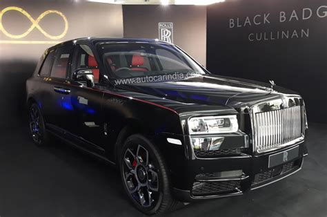 rolls royce cullinan black badge price  india starts
