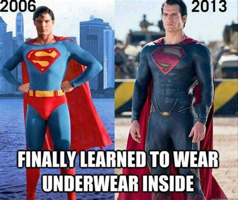Funny Superman Memes - funniest superhero moments superman underwear guff