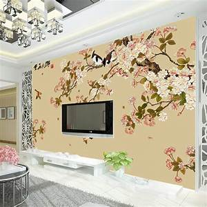 Aliexpress.com : Buy Vintage Bird and flower Wallpaper ...