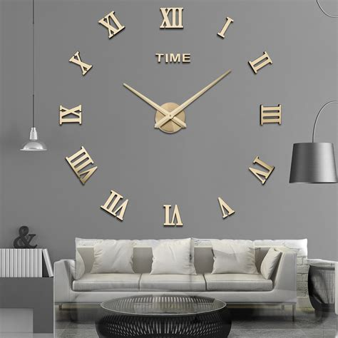 World Clock Rome by 2018 Rome Word Large Number Originality Diy Clock
