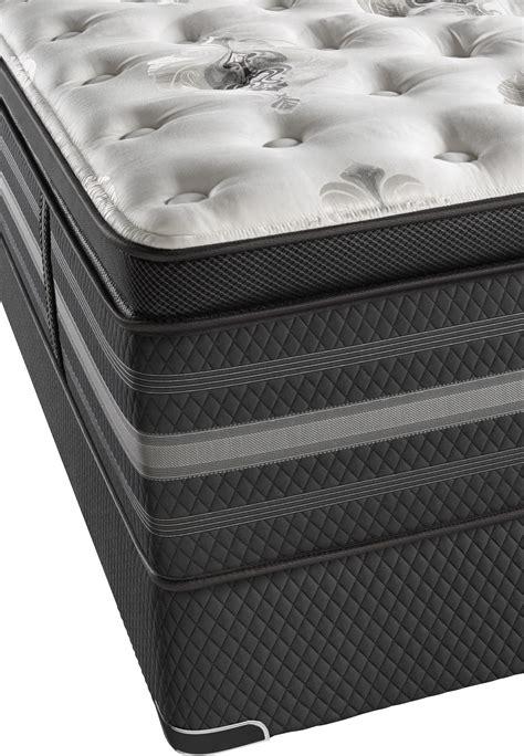 beautyrest black sonya luxury firm pillow top queen mattress