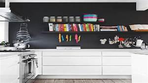 cuisine blanche 20 idees deco pour s39inspirer deco cool With peindre son parquet en gris 8 bien choisir sa peinture blanche dinterieur leroy merlin