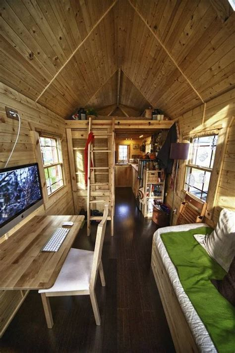 tiny home interior vote for malissa s tiny house on apartment therapy s small space contest