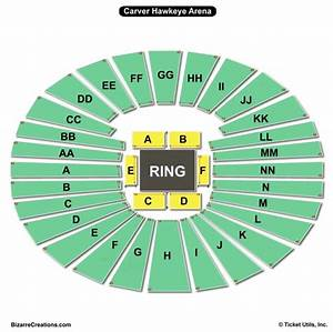 Kennedy Center Opera Seating Chart Carver Hawkeye Arena Seating Chart Seating Charts Tickets