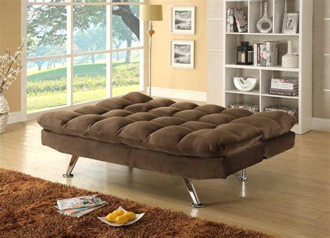 Homelegance Jazz Click Clack Sofa Bed Chocolate