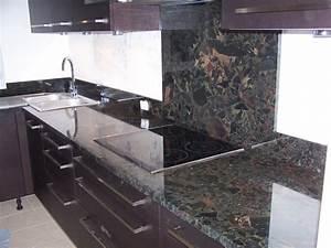Plan De Travail De Cuisine : awesome marbre galaxy cuisine ideas ~ Edinachiropracticcenter.com Idées de Décoration
