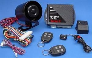 Car Alarm System Wiring Diagram
