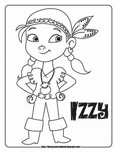 Jake and the Neverland Pirates 1: Free Disney Coloring ...